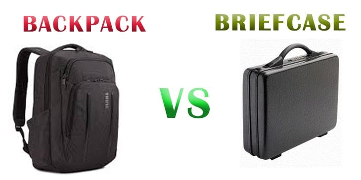 Backpack Vs Briefcase