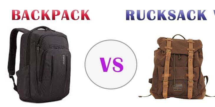 Rucksack Vs Backpack